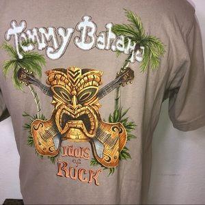 Medium Tommy Bahama tiki Hawaiian shirt